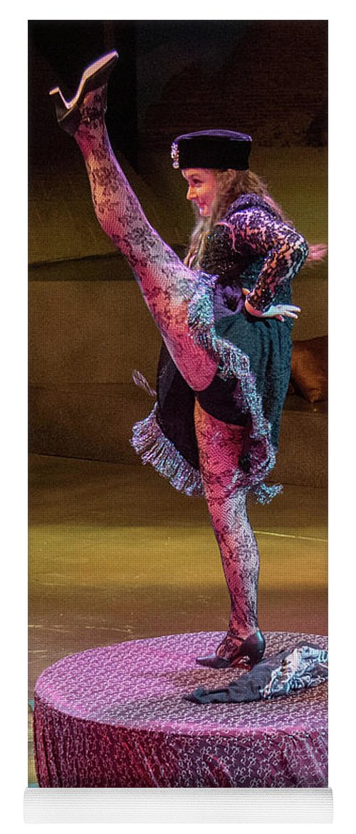 Artisan Center Theater Yoga Mat featuring the photograph Mrs. Potiphar by Alan D Smith