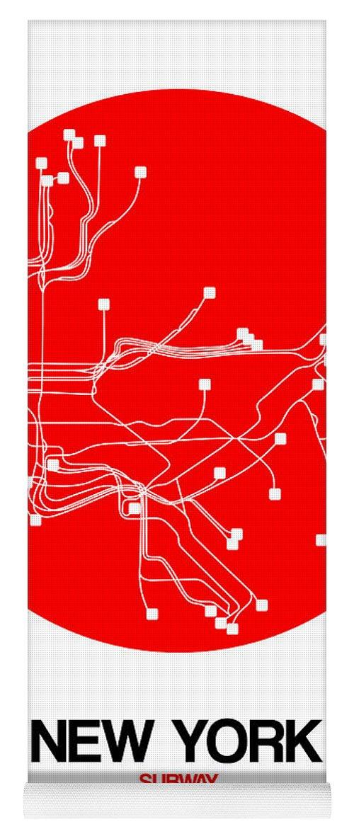 Chatham Square Subway Map.New York City Subway Yoga Mats Fine Art America