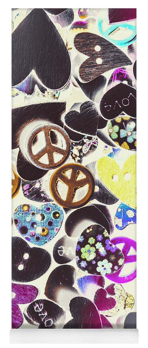 Funky Yoga Mat featuring the photograph Peace Revival by Jorgo Photography - Wall Art Gallery