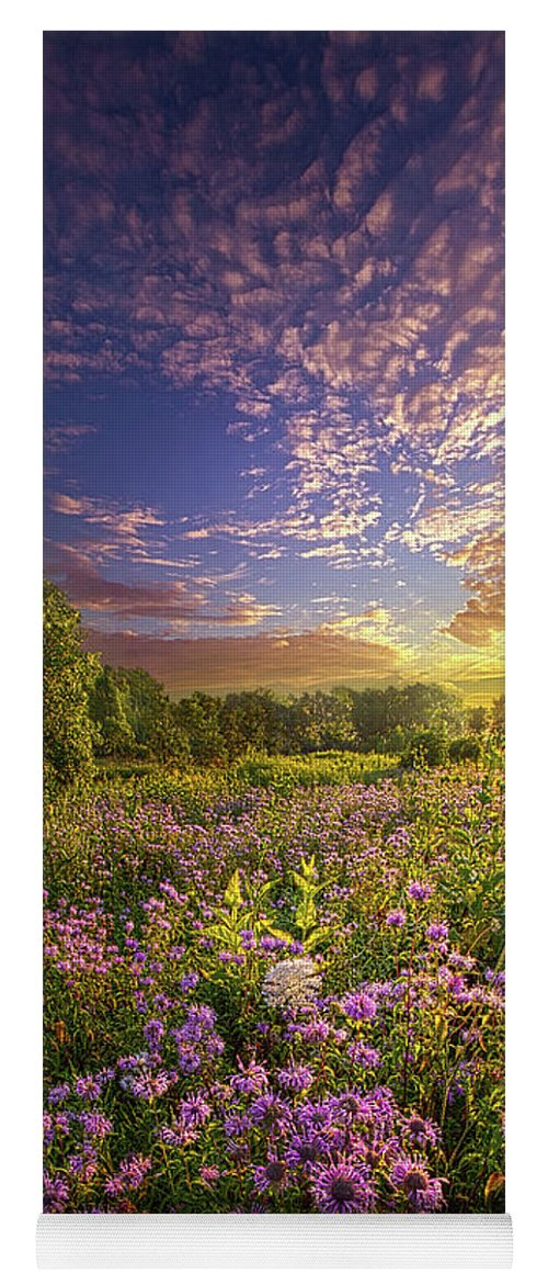 Life Yoga Mat featuring the photograph Promising A New Day by Phil Koch