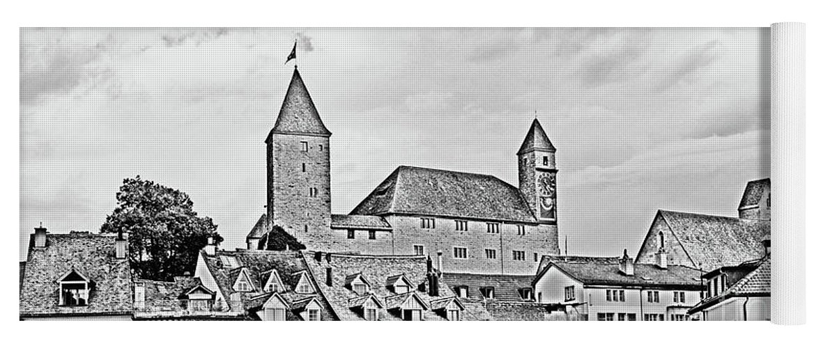 Rapperswil Yoga Mat featuring the photograph Rapperswil Castle 2 by DiFigiano Photography