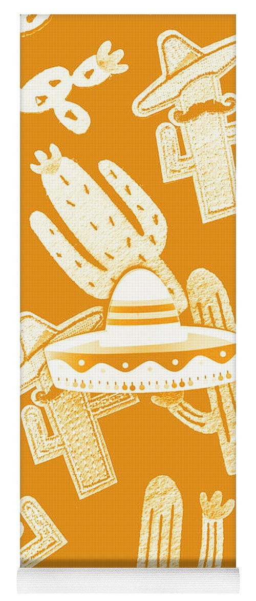 Mexican Yoga Mat featuring the photograph Summerbrero by Jorgo Photography - Wall Art Gallery