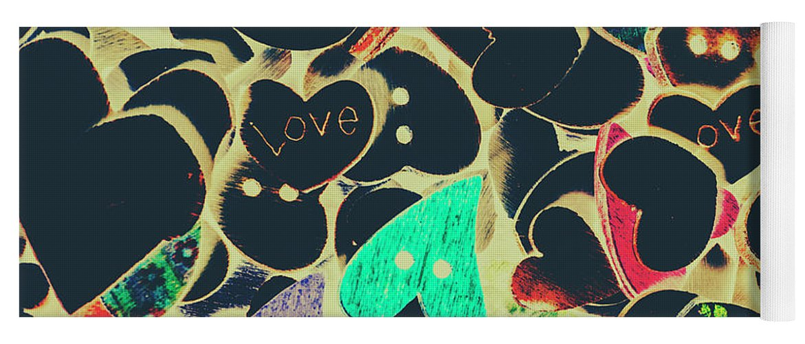 Buttons Yoga Mat featuring the photograph The Craft Of Love by Jorgo Photography - Wall Art Gallery