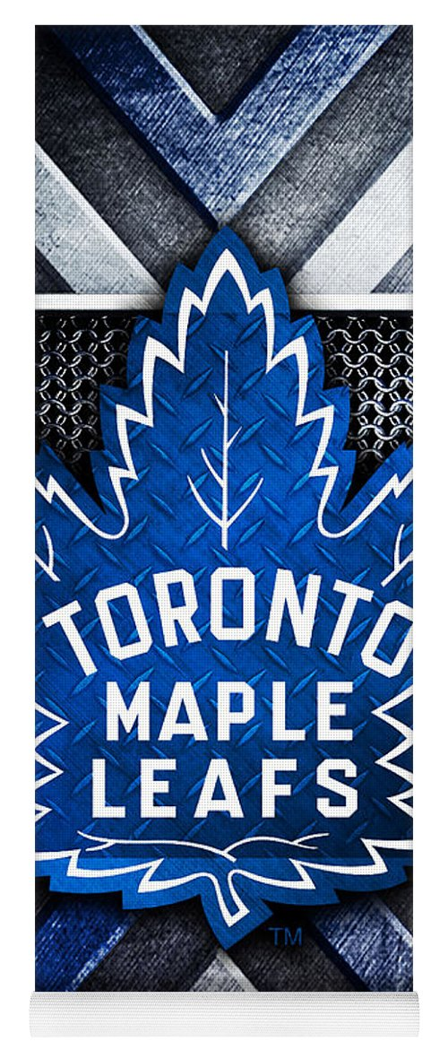 Toronto Maple Leafs Logo Art 1 Yoga Mat For Sale By William Ng