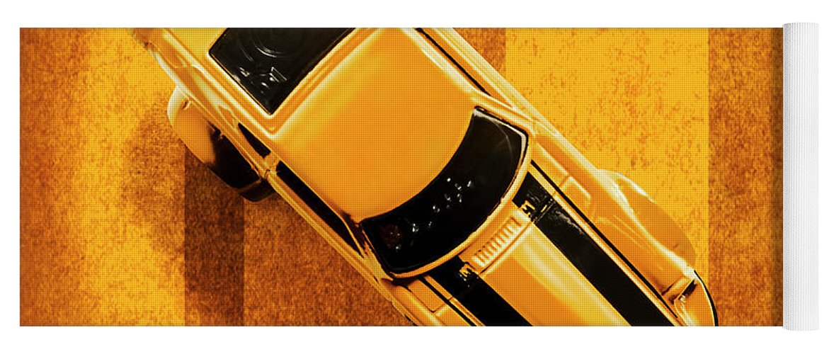 Automotive Yoga Mat featuring the photograph Z by Jorgo Photography - Wall Art Gallery