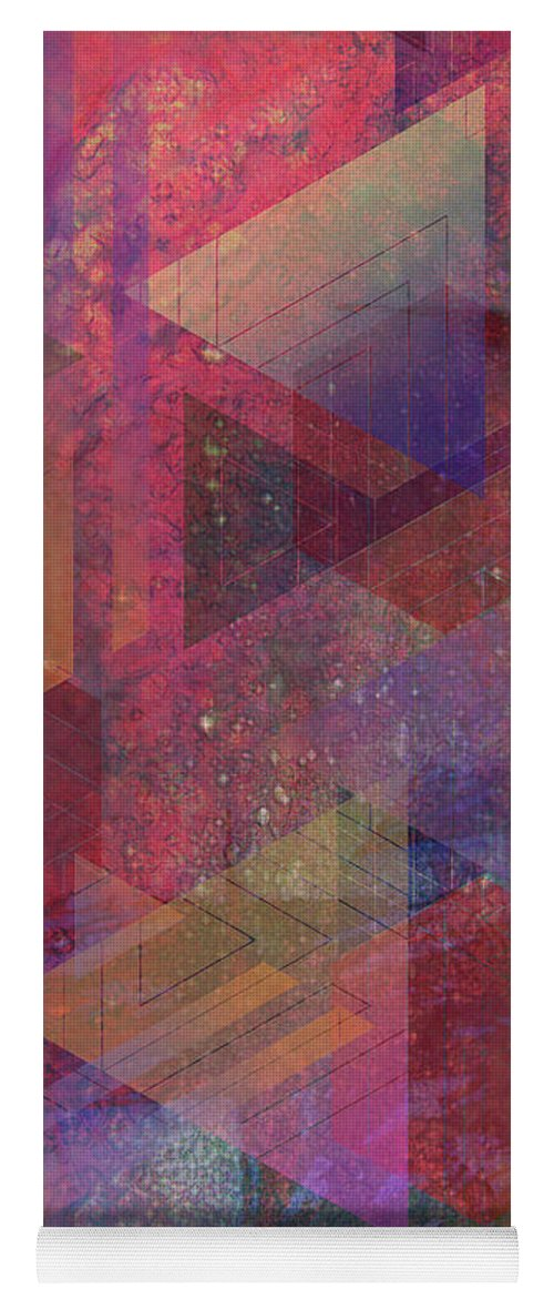 Another Place Yoga Mat featuring the digital art Another Place by John Robert Beck