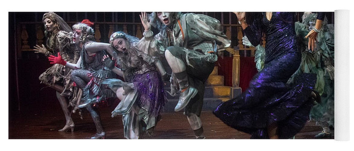 Adams Family Yoga Mat featuring the photograph Dance With The Relatives by Alan D Smith