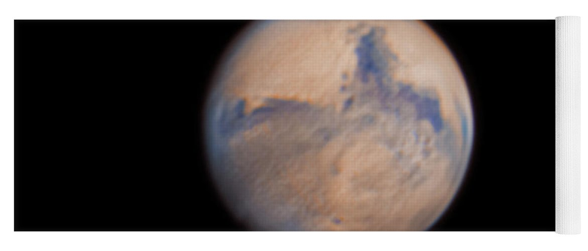 Mars Yoga Mat featuring the photograph Mars from 31st October 2020 by Prabhu Astrophotography
