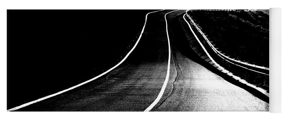Photography Yoga Mat featuring the photograph Road To The Light by Vicente Sargues