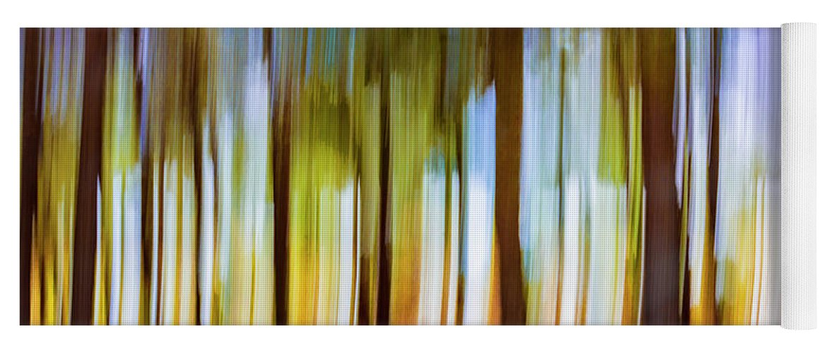 Colourful Yoga Mat featuring the photograph The Unreal Forest by Vicente Sargues