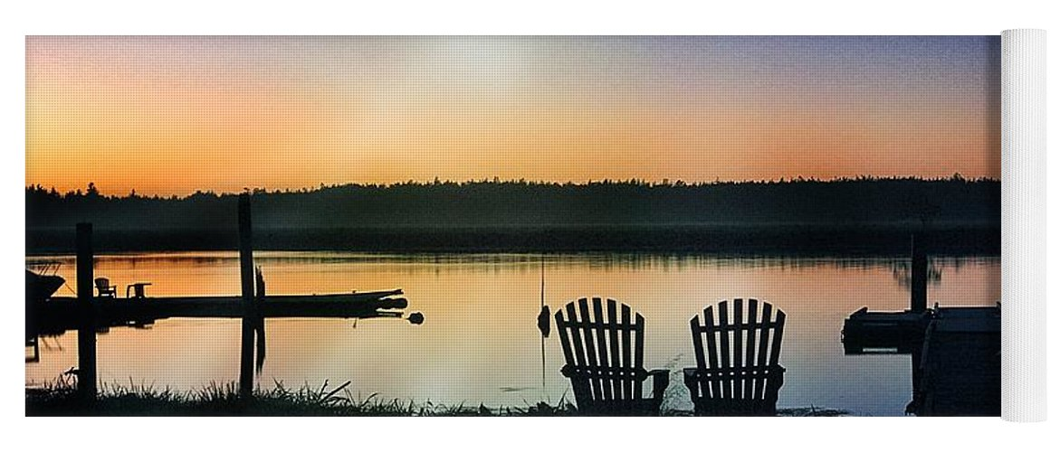 200 Views Yoga Mat featuring the photograph Water's Edge by Jenny Revitz Soper