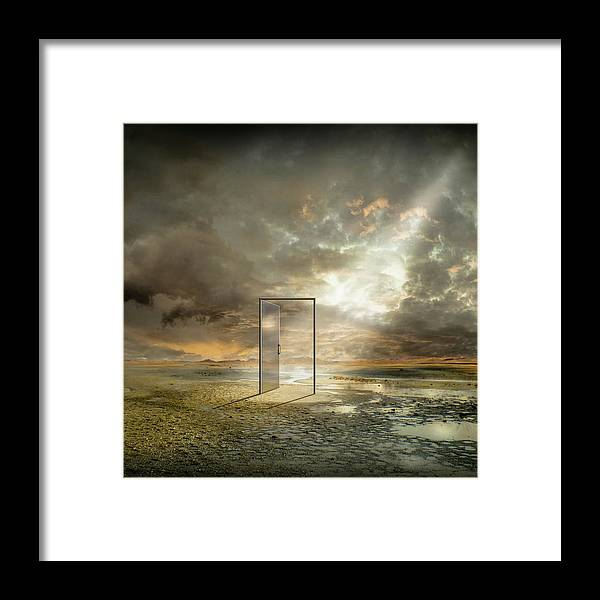 Surreal Framed Print featuring the photograph | Behind The Reality | by Franziskus Pfleghart