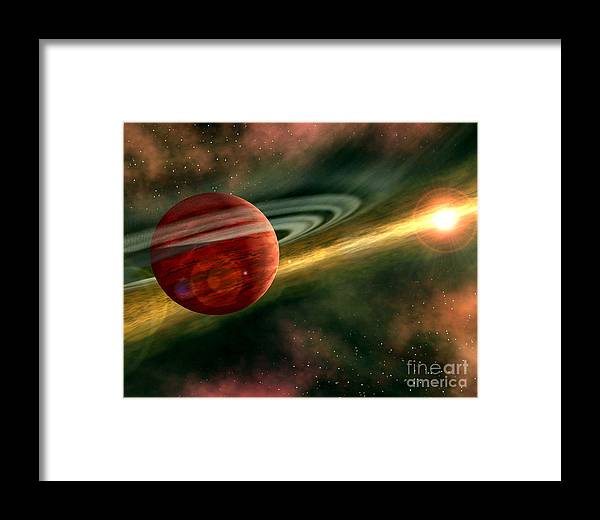 Cosmos Framed Print featuring the photograph Born In Space by CSlater