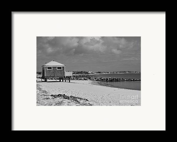 Cape Cod Massachusetts Framed Print featuring the photograph Cape Cod Winter Morning by Catherine Reusch Daley