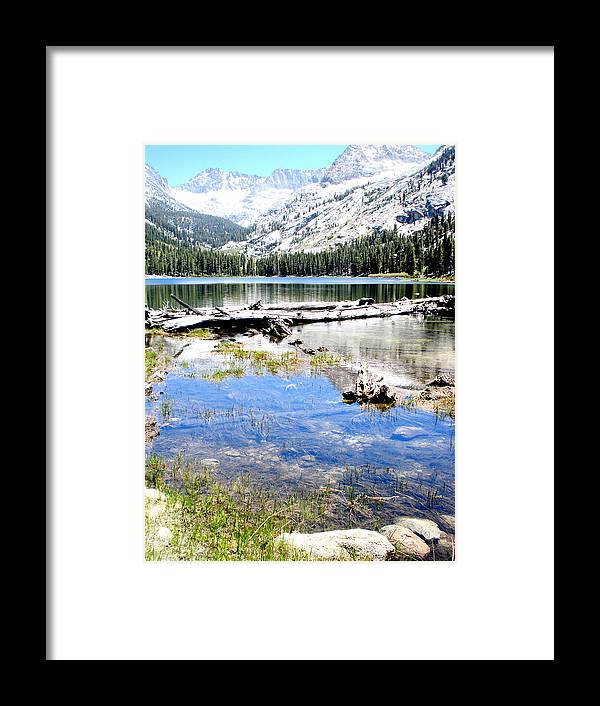 American Treasure Framed Print featuring the photograph East Lake by Azadeh Sarvi