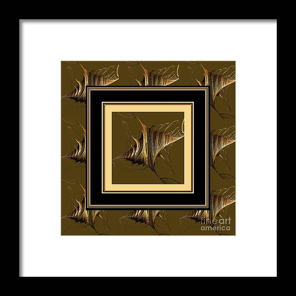 Gossamer Wings Framed Print featuring the digital art Gossamer Wings by Barbara Griffin