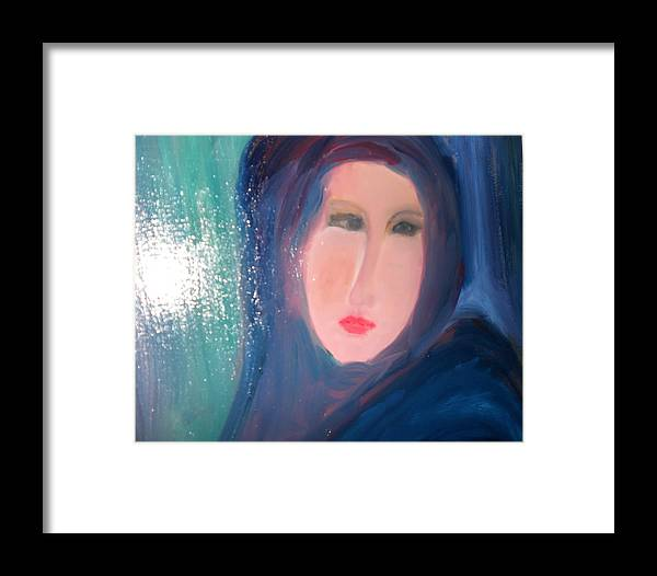 Hope Framed Print featuring the painting In Pursuit Of Hope by Rashmi Singh