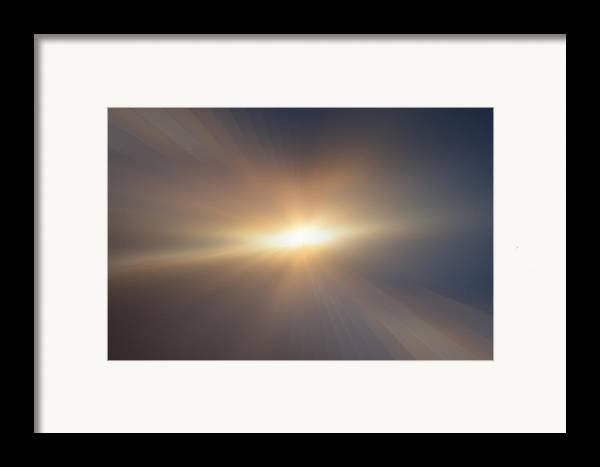Landscape Framed Print featuring the photograph Infinity by Kevin Bone