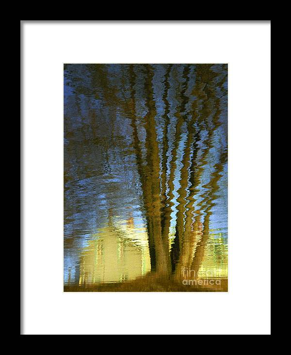 Reflections Framed Print featuring the photograph Ripples by Robert Marleau