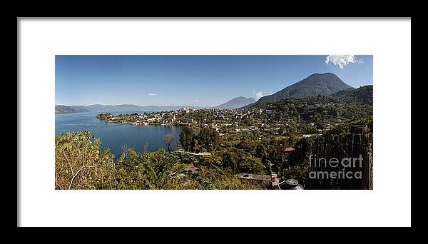 C123206 Framed Print featuring the photograph San Pedro La Laguna by Ty Lee