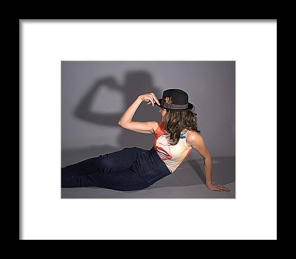 Framed Print featuring the photograph  Shadow Play No 9 by Don McCunn