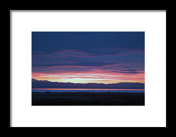 Sunrise Framed Print featuring the photograph Sunrise 2 by Ed Nicholles