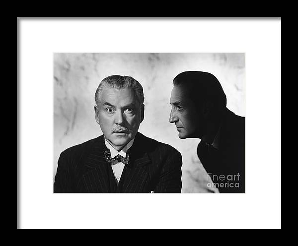 Nigel Bruce Framed Print featuring the photograph Who Done It? by CSlater