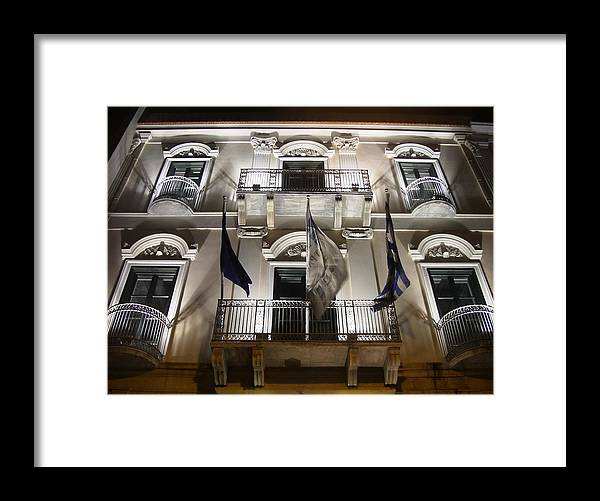 Greece Framed Print featuring the photograph 0005288 - Patras by Costas Aggelakis