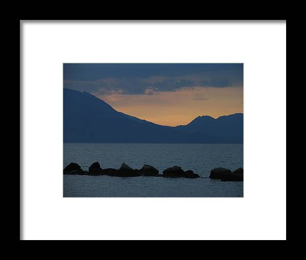 Greece Framed Print featuring the photograph 0016227 - Patras by Costas Aggelakis