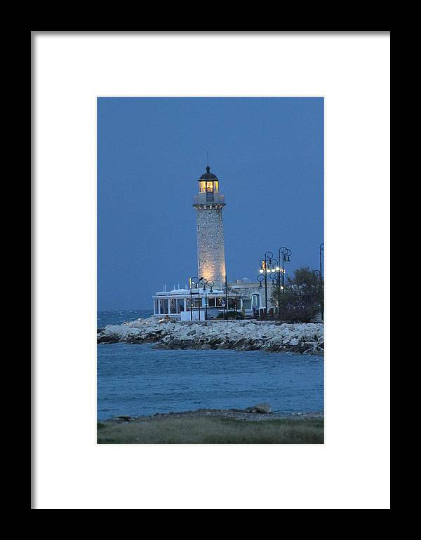Greece Framed Print featuring the photograph 0079368 - Patras by Costas Aggelakis
