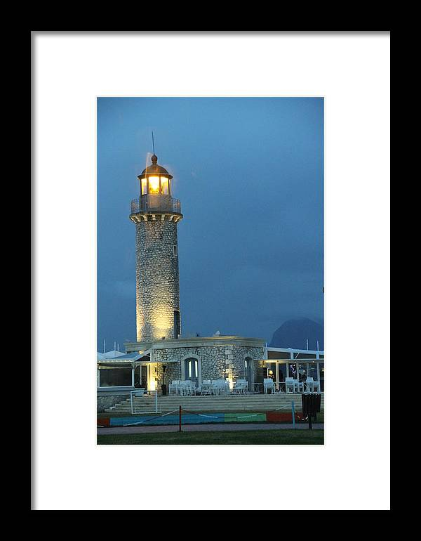 Greece Framed Print featuring the photograph 0079378 - Patras by Costas Aggelakis