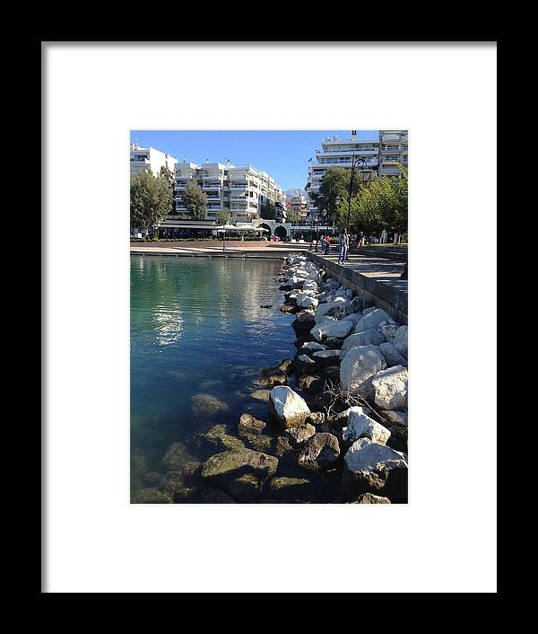 Greece Framed Print featuring the photograph 0087033 - Patras by Costas Aggelakis