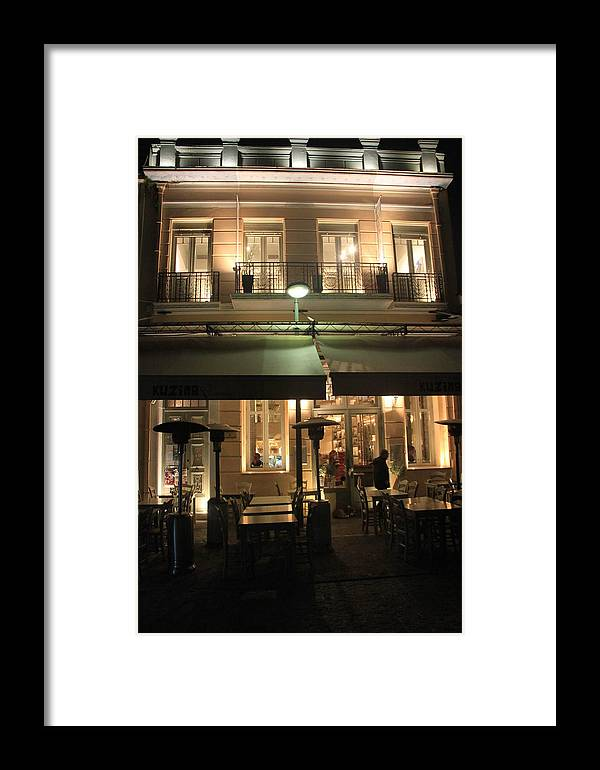 Greece Framed Print featuring the photograph 0096507 - Athens by Costas Aggelakis