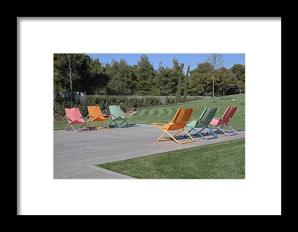 Greece Framed Print featuring the photograph 0097932 - Athens - Tatoi Club by Costas Aggelakis