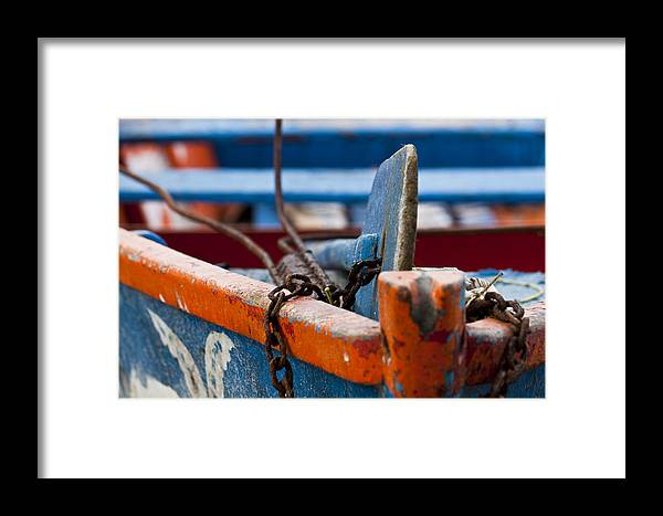 Barco Framed Print featuring the photograph 0654d by Carlos Mac