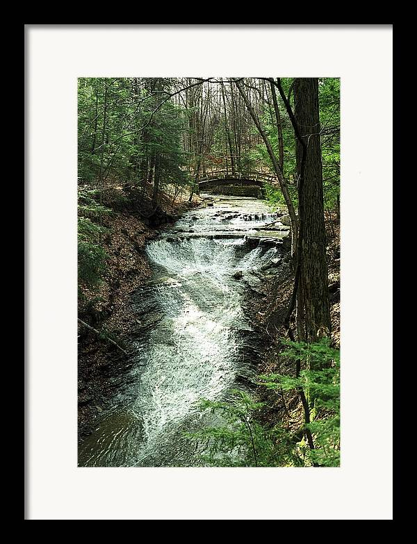 Water Framed Print featuring the photograph 070506-36 by Mike Davis