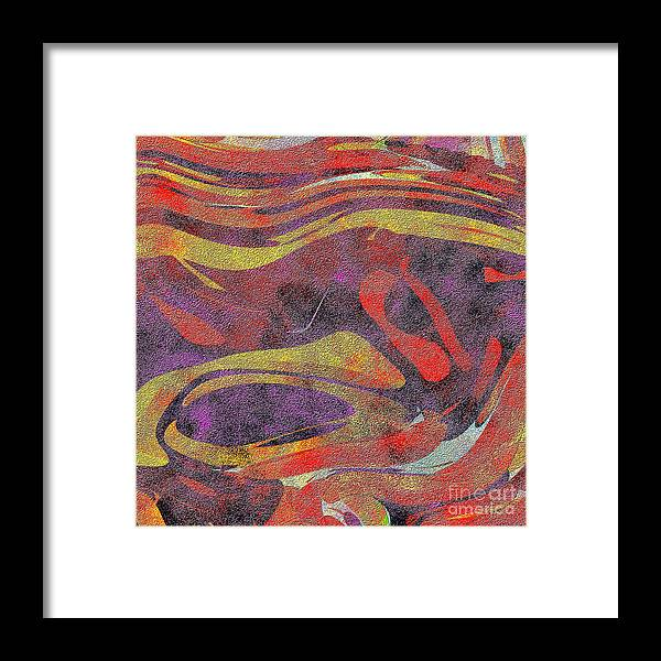 Abstract Framed Print featuring the digital art 0906 Abstract Thought by Chowdary V Arikatla