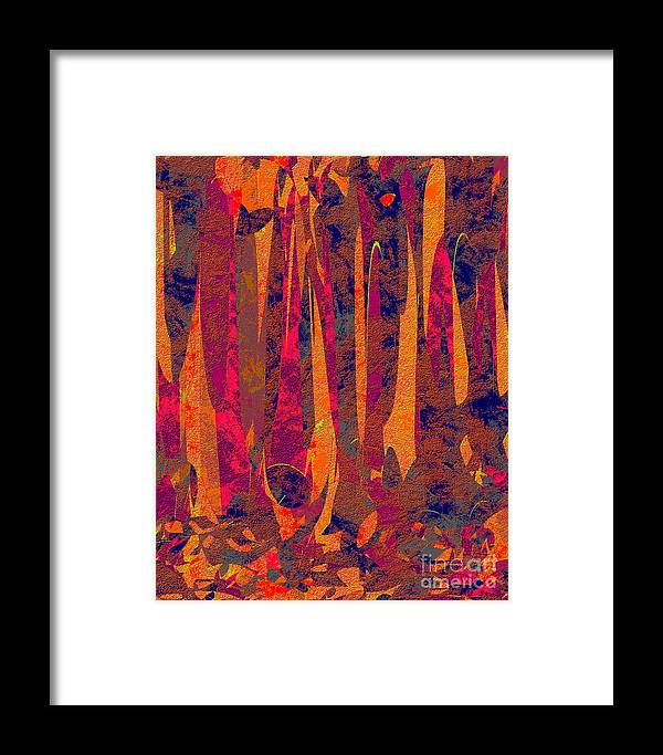 Abstract Framed Print featuring the digital art 0917 Abstract Thought by Chowdary V Arikatla