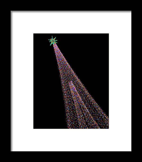 Green Bay Botanical Gardens Framed Print featuring the photograph Festival Of Lights - Christmas At The Botanical Gardens by Carol Toepke