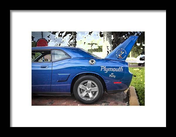 2010 Plymouth Superbird Framed Print featuring the photograph 2010 Plymouth Superbird by Rich Franco