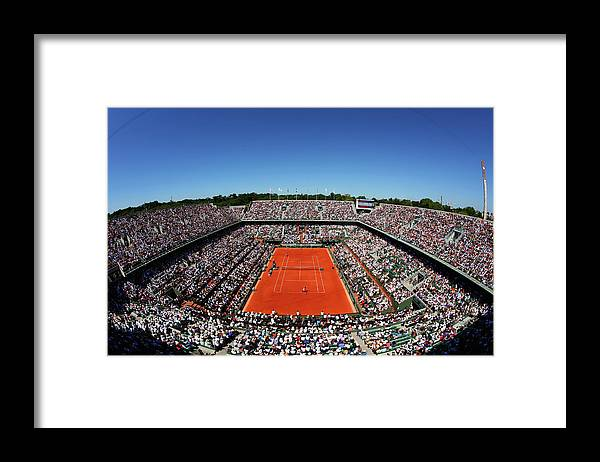Tennis Framed Print featuring the photograph 2015 French Open - Day Fourteen by Clive Brunskill