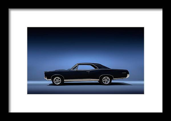 Transportation Framed Print featuring the digital art 67 Gto by Douglas Pittman