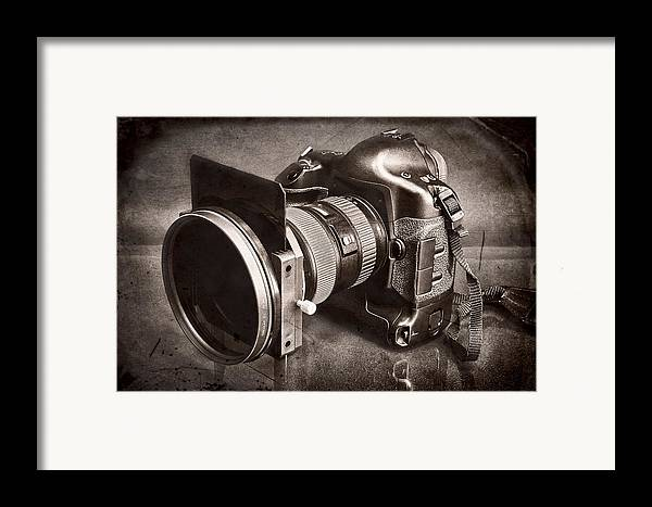 Fineart Framed Print featuring the photograph A Trusted Partner by Jeff Burton