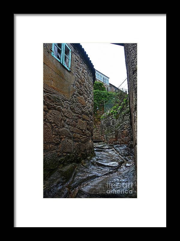 Ancient Framed Print featuring the photograph Ancient Street In Tui by RicardMN Photography
