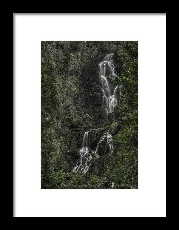 Waterfall Landscape Framed Print featuring the photograph Angel Falls by Bill Sherrell