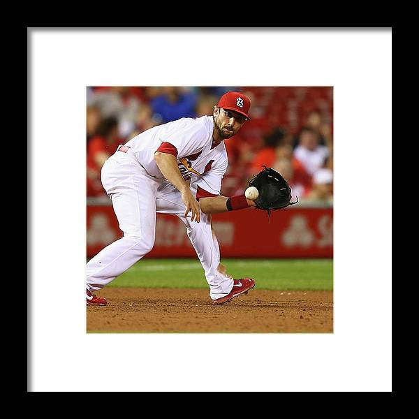 St. Louis Cardinals Framed Print featuring the photograph Arizona Diamondbacks V St. Louis 1 by Dilip Vishwanat