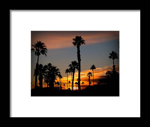 Sunrise Framed Print featuring the photograph Arizona Sunrise by Dale Paul