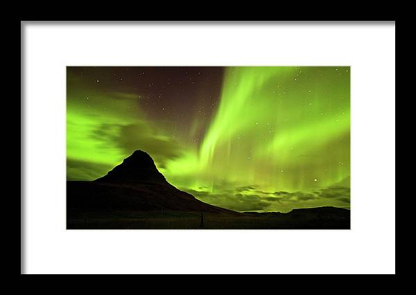 Scenics Framed Print featuring the photograph Aurora Borealis by Geinis