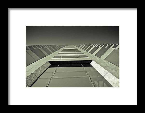 Austin Framed Print featuring the photograph Austin by Chance Beaver
