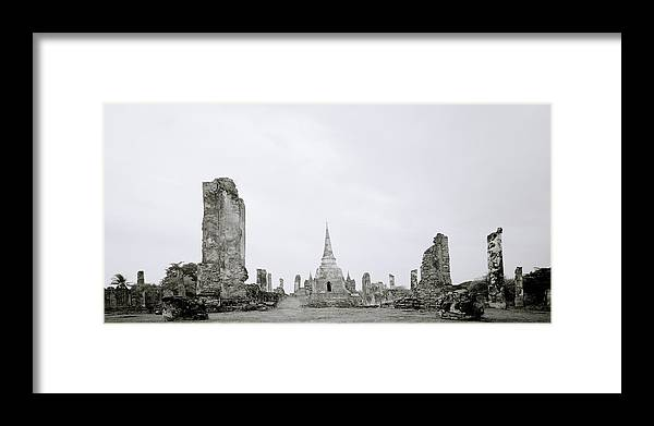 Ayutthaya Framed Print featuring the photograph Ayutthaya by Shaun Higson